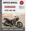 Thumbnail Kawasaki KZ750 1980-1988 Service Repair Manual PDF