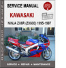 Thumbnail Kawasaki Ninja ZX6R (ZX600) 1995-1997 Service Repair Manual