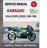 Thumbnail Kawasaki Ninja ZX6R (ZX600) 1998-1999 Service Repair Manual
