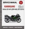 Thumbnail Kawasaki Ninja ZX14R (ZZR1400) 2012-2013 Service Manual