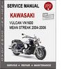 Thumbnail Kawasaki Vulcan VN1600 Mean Streak 2004-2006 Service Manual