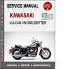 Thumbnail Kawasaki Vulcan VN1500 Drifter Service Repair Manual PDF