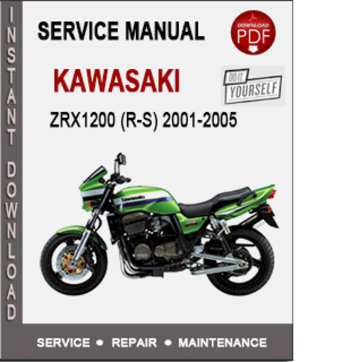 Product picture Kawasaki ZRX1200 (R-S) 2001-2005 Service Repair Manual PDF