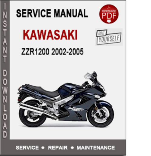 Product picture Kawasaki ZZR1200 2002-2005 Service Repair Manual PDF