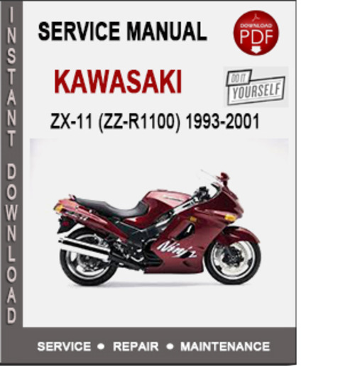Product picture Kawasaki ZX-11 (ZZ-R1100) 1993-2001 Service Repair Manual PD